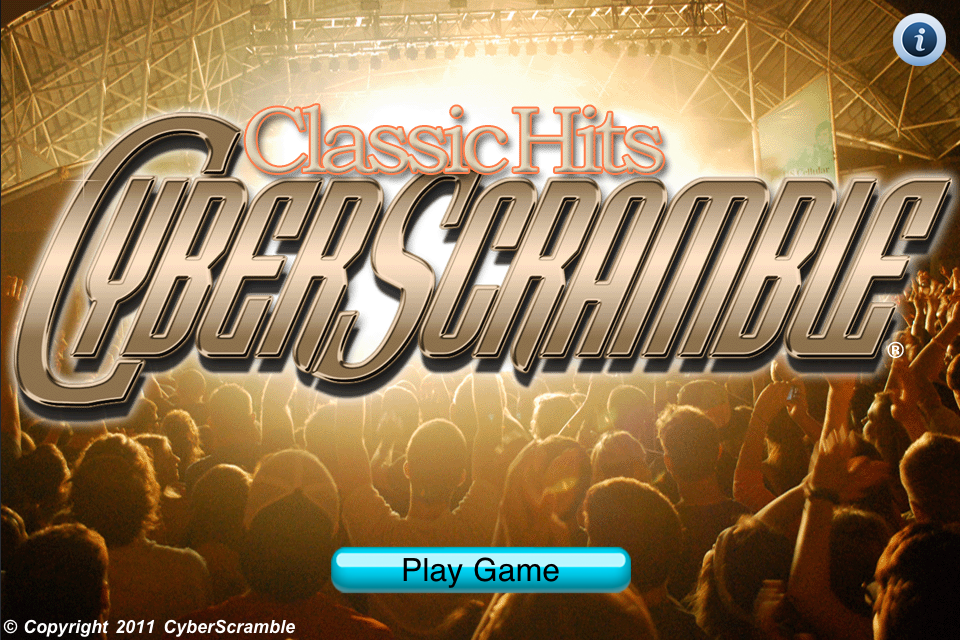 Screenshot Classic Hits CyberScramble®